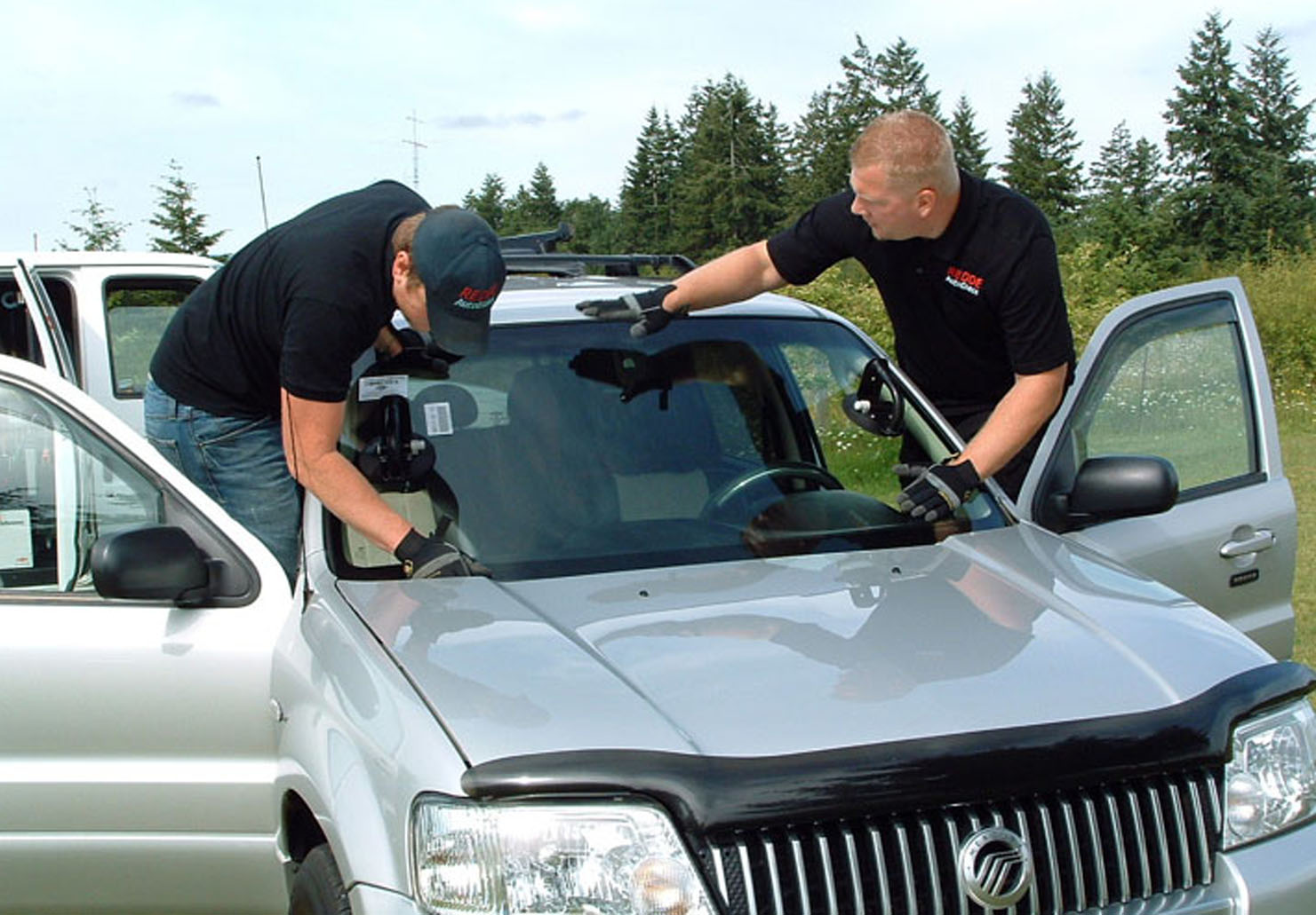 Windshield Installation